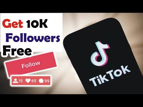 How To Get 10k Followers L How To Increase Followers On Tiktok Youtube Increase Followers How To Get Increase