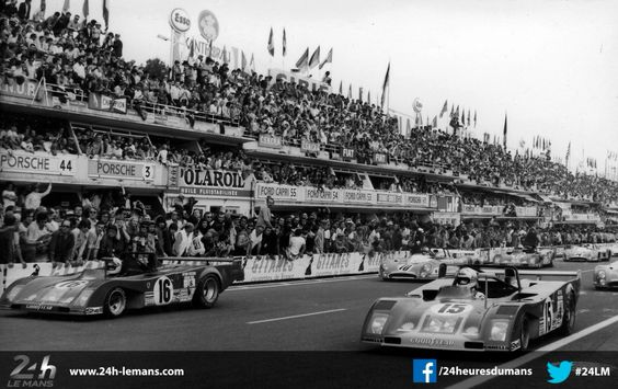 24h Le Mans starting grid
