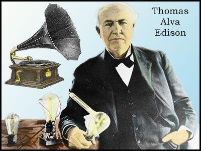 Social Studies Games - Inventors -Thomas Edison Jigsaw Puzzle ...