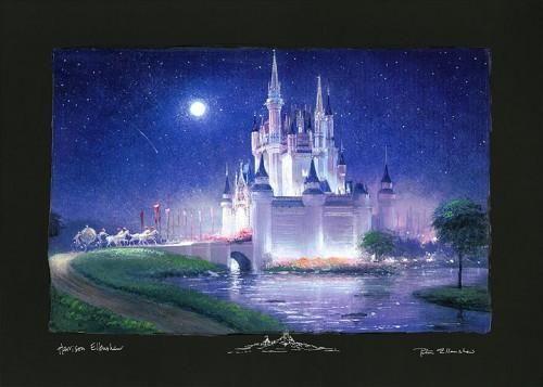 Disney Cinderella S Grand Arrival Disney Fine Art Disney Art Disney