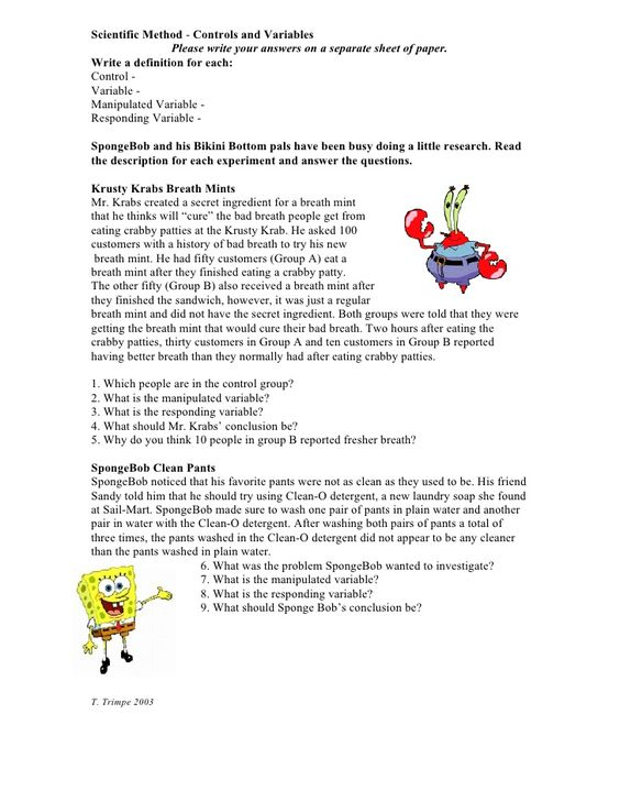 Printables Spongebob Science Worksheet spongebob scientific method worksheet pichaglobal and separate on pinterest