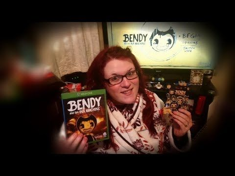 Let S Play Bendy And The Ink Machine Xbox One Unboxing Bendy