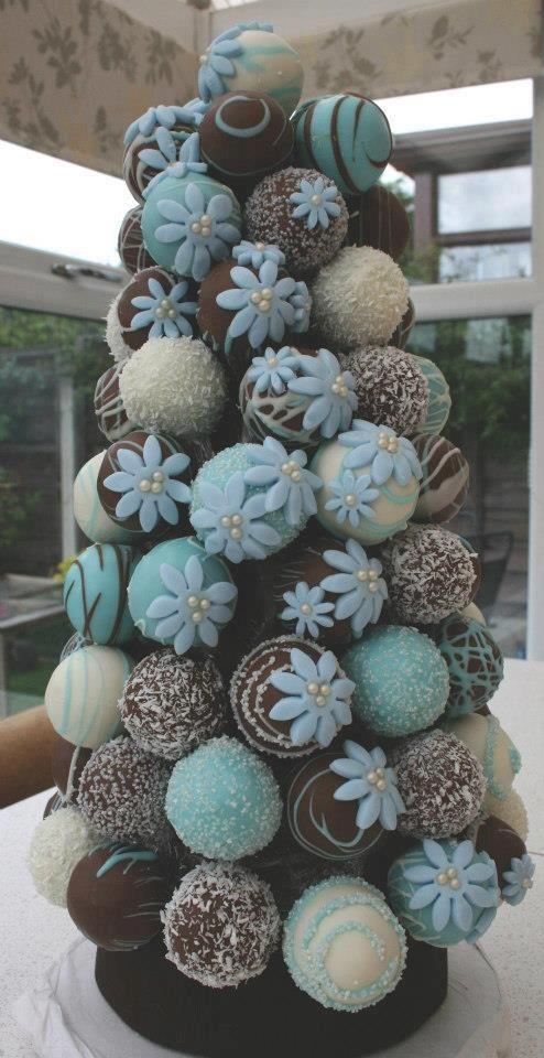 Cake Balls Cake   #timelesstreasure