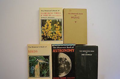 5 #observers books - #music,astronomy,birds,zoo #animals,flowering trees & shrubs,  View more on the LINK: http://www.zeppy.io/product/gb/2/222311596817/