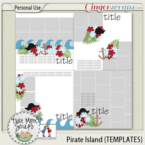 New Release PIRATE ISLAND by TwinMomScraps ON SALE %35 off! Pirate Island TEMPLATES; http://store.gingerscraps.net/Pirate-Island-TEMPLATES.html. 06/09/2013