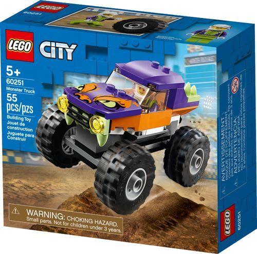 Best Buy Lego City Monster Truck 60251 6288835 In 2020 Monster Trucks Monster Truck Toys Lego City