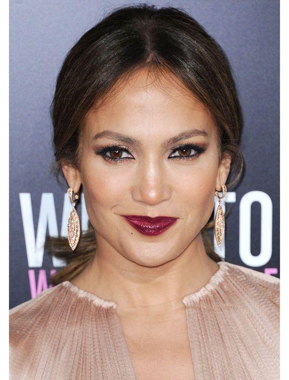 La raie centrale de Jennifer Lopez / The center part as seen on Jennifer Lopez