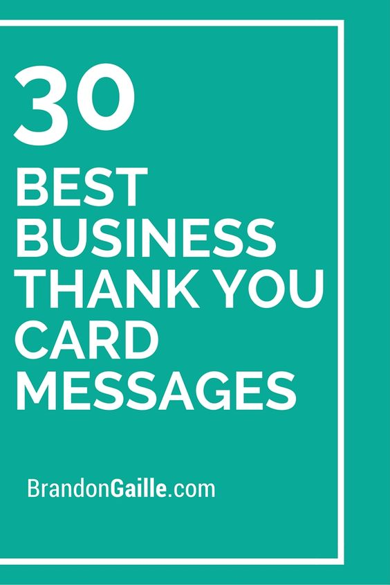 30 best business thank you card messages messages thank