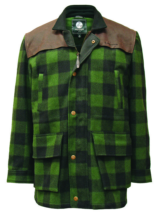 Swanndri 'Claymore' Jacket RRP $399.95. Exclusive to Kirkcaldies  In Wellington  City.