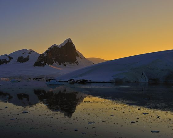 Antarctic Sunrise by Tony Beck on 500px