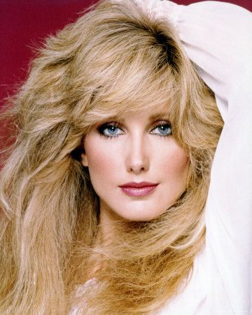 Morgan Fairchild - Used to be told I looked like her with black hair (in the 80s?)