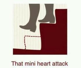 That mini heart attack.