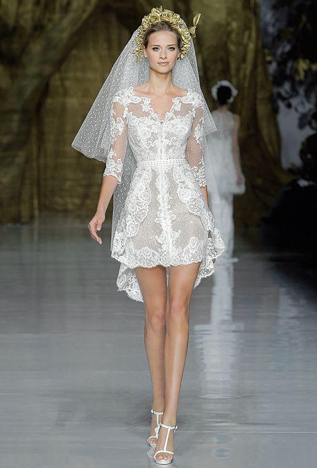 short wedding dresses 3/4 sleeves | drinks wedding registry wedding decor flowers live wedding destination ...