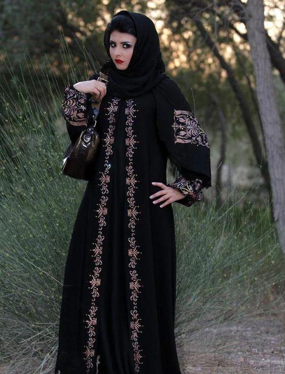 Последни ислямски абая мода 2013 за момичета