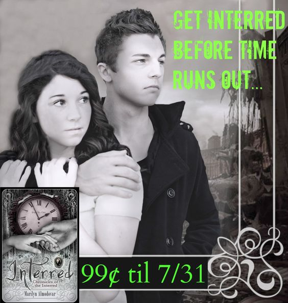 Travel through time with Baxter and Jack! #Interred #YA #Teens #books http://bit.ly/Interred  #99cents #Sale pic.twitter.com/12p2EjTGHm