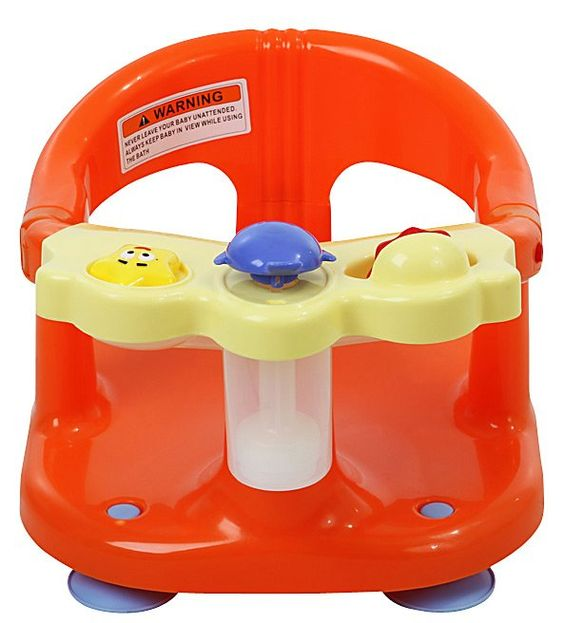Dream on Me Baby Bath Seat - Orange
