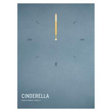 Cinderella Unframed Wall Canvas