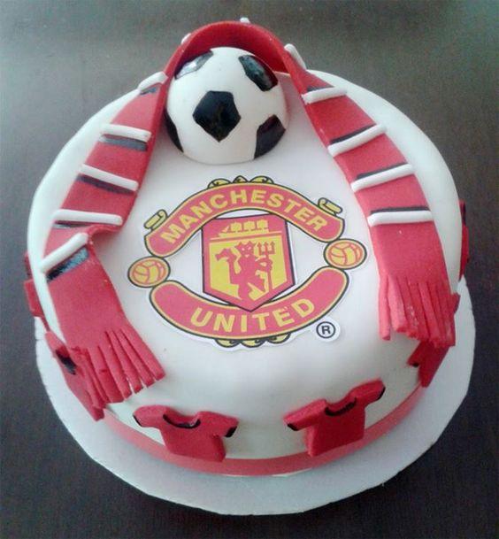 Manu Cake Design : Torta manchester united / Manchester united cake Tortas ...