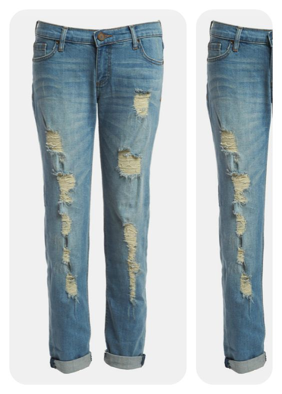 the perfect shredded jeans $88! #Nordstrom #Savvy