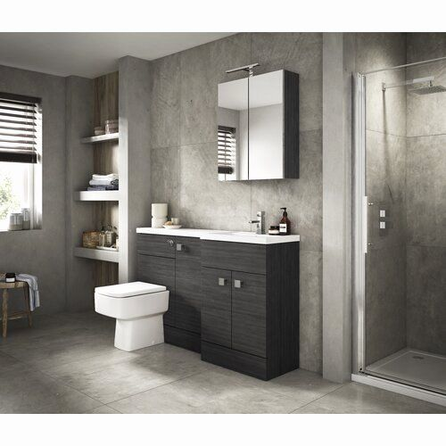 Avola Grey Bathroom Furniture Lovely Hudson Reed Fusion 1500mm Bathroom Furniture Suite In 2019 Di 2020