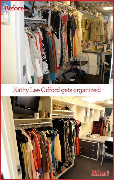The Secrets of Closet Organization #kathyleegifford