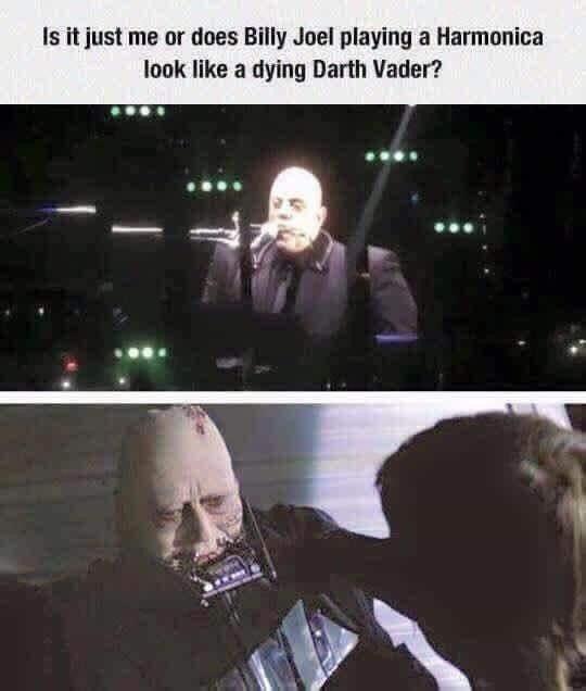 Pin By Praedor On Humor Billy Joel Funny Memes Star Wars Memes