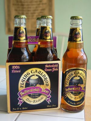 Flying Cauldron Butterscotch Beer (Non-Alcoholic) - Good for a Harry Potter party too.