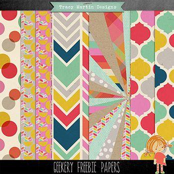 Geekery - Paper Freebie*
