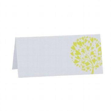 """Tischkarten """"Daisy"""" - frisches Grün für Ihre Hochzeitstafel - weddix"""