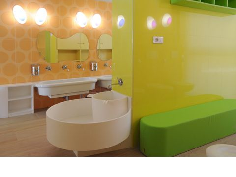 Bathroom inspiration reggio children classroom for Preschool bathroom ideas