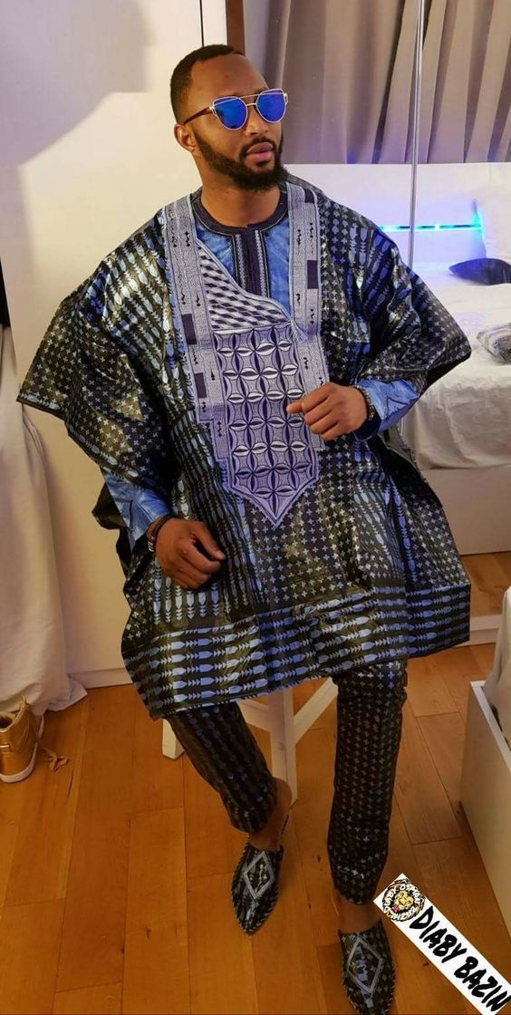 Short Agbada Styles For Men (2018/2019)