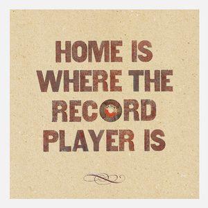 Home Is Where Print 35x35