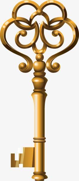 مفتاح مفتاح ذهبي المفتاح القديم مفتاح Png وملف Psd للتحميل مجانا Ancient Key Classic Chair Golden Key