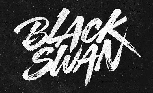 Brush Stroke Font Typophile Grunge Typography Lettering Design