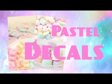 Roblox Bloxburg Pastel Decal Id S Youtube Roblox Custom