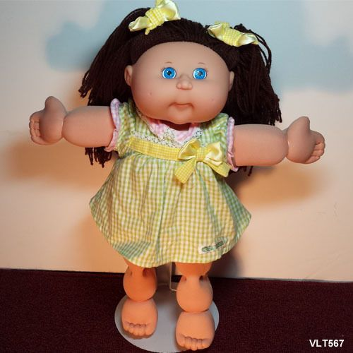 Cabbage Patch Kids Cabbage Patch And Brown Hair On Pinterest