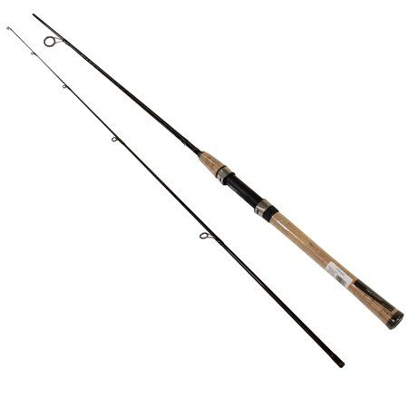 Daiwa Crossfire Freshwater Spinning Rod 6 6 Inch Length 2 Piece 6 15 Lb Line Rate 1 8 3 4 Oz Lure Rate Medium Power Black Crossfire Rod Spinning Rods