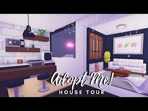 Tiny Modern Aesthetic House Tour Roblox Adopt Me Youtube In 2020 Modern Tiny House Tiny House Design Tiny House Layout