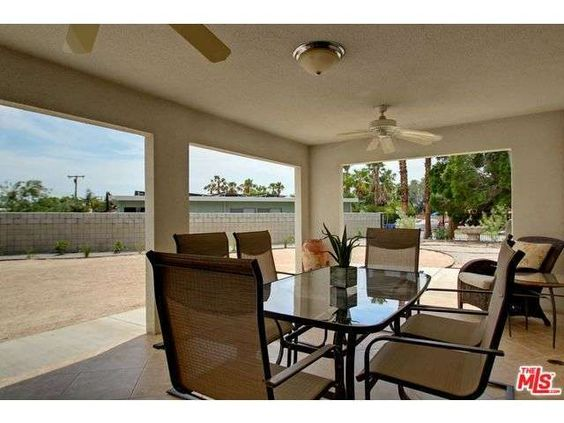 Sold  Homes by Tracy Merrigan 3034 N Cerritos Rd, Palm Springs #PalmSprings Large outdoor covered patio  tracymerrigan.com