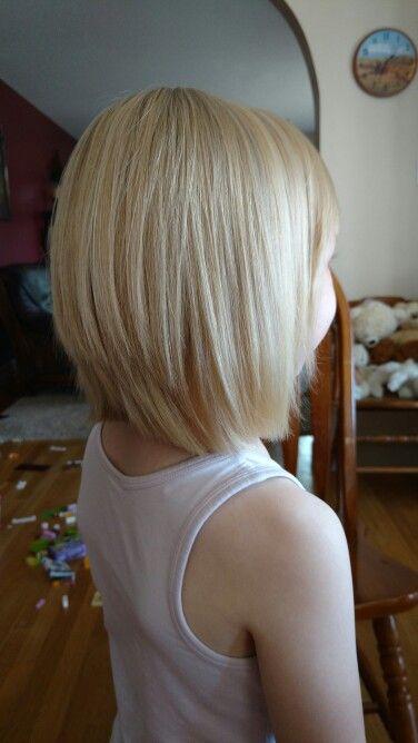 Little girls bob cut