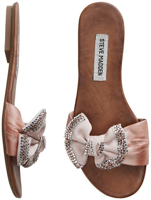 Steve Madden...cute,even if they are flat.