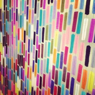#neocon2013 Fabric inside of an acrylic panel