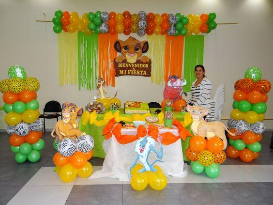 Decoracion Infantil Del Rey Leon ~ Explora Rey Leon Fiesta, Fiesta San, ?y mucho m?s!
