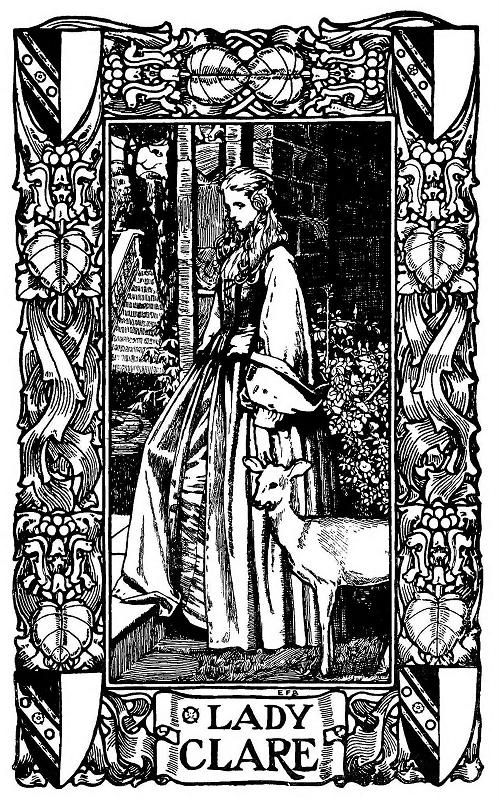 Eleanor Fortescue-Brickdale - Poems by Alfred Lord Tennyson.: