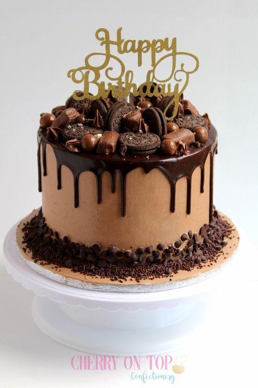 Overloaded chocolate drip cake | Chocolate oreo cake recipe, Chocolate oreo  cake, Oreo cake recipes
