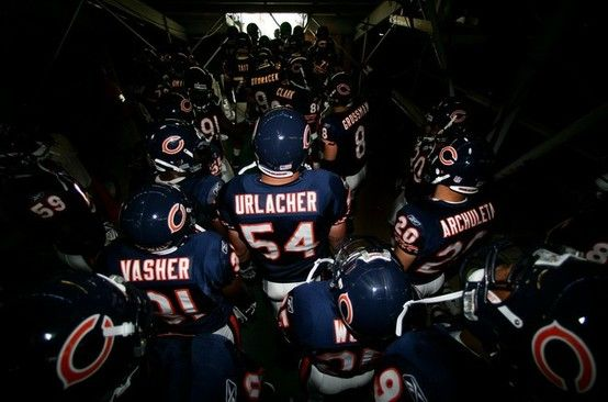 Chicago Bears - Click image to find more Other Pinterest pins: Chicago Sports, Bears Urlacher, Bears Game, Bears Sweet, Bears Football, Chicago Bears, Da Bears