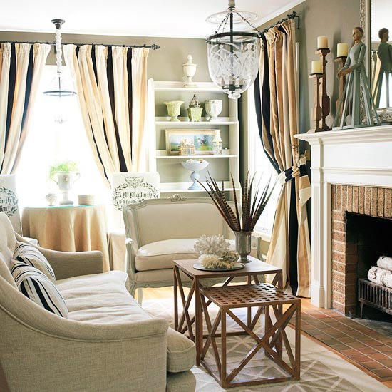 Small Space Solutions For Every Room Small Space Living Small Living Rooms Country Living Room