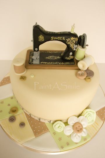 Cake Design For Singer : Singer sewing machines, Sewing machines and Singers on ...
