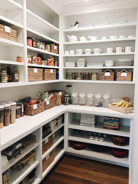30 Stylish Kitchen Pantry Ideas 2020 For Cool Kitchen In 2020 Pantry Decor Kitchen Pantry Design Pantry Design