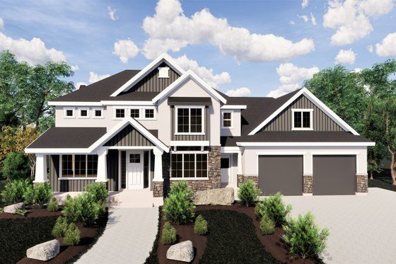 Craftsman Style House Plan 6 Beds 7 Baths 8496 Sq Ft Plan 920 42 In 2020 Craftsman Style House Plans Dream House Plans Lake House Plans